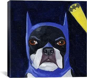 iCanvasART 12037 Hat 15-2 Bat Canvas Print by Brian Rubenacker, 12 by 12-Inch, 0.75-Inch Deep