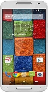 Motorola 摩托罗拉 Moto X 2。 代智能手机(13.2厘米(5.2英寸)全高清显示屏,触摸屏,13万像素摄像头,WiFi,16GB内存,安卓套件4.4.4)白色/竹
