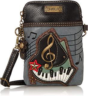 Chala Piano Cellphone Crossbody Handbag - Convertible Strap