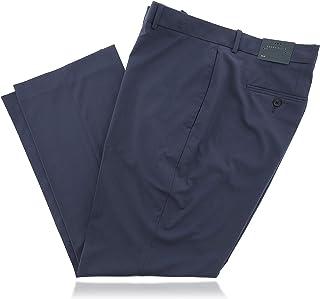 Perry Ellis 考究必备爱琴蓝色男式设计师裤子 (38x30)