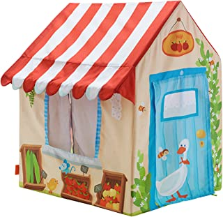 HABA Grocery Shop Play 帐篷,带 Awning (2 窗和卷门)