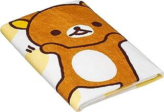 西川家居用品 水浴巾 相框 80×80cm 黄色 80×80cm