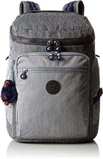 Kipling 凯浦林 *学生背包,46厘米,28升,灰色(灰色牛仔布)