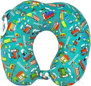 Hugger 高**海绵颈旅行枕 适合儿童 Choo Choo Choo 小号