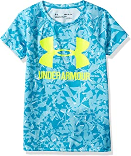 Under Armour 安德玛 女童大徽标 T 恤新奇短袖衬衫