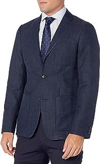 Perry Ellis 男式修身纯色夹克