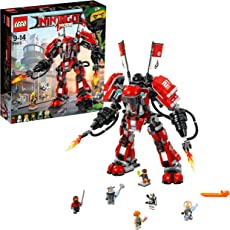 LEGO乐高 17新款 忍者大电影系列 拼插积木玩具 (火忍者的超级爆炎机甲70615)