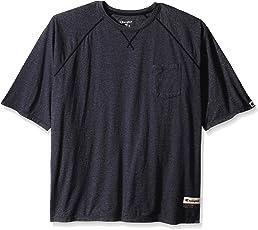 Champion 男士正品原装水洗加软短袖 T 恤