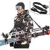Sklon 滑雪带和杠铃架 - 滑雪配件带垫肩垫舒适+*