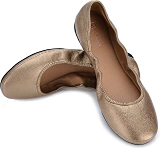 Eureka Audrey Leather 女士芭蕾平底鞋