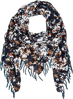 BOSS 休闲女式围嘴围巾,蓝色(开放蓝色 480),均码(制造商尺寸:STÜCK)