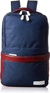[ISURA] 双肩包 藏青色 B4收纳 双层 防水加工材料 INA-6507