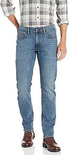 Lee Riders 靛蓝男式修身直筒牛仔裤