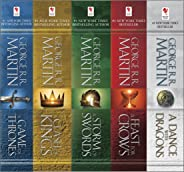 George R. R. Martin's A Game of Thrones 5-Book Boxed Set (Song of Ice and Fire Series): A Game of Thrones, A Clash of Kings,