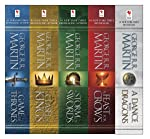 George R. R. Martin's A Game of Thrones 5-Book Boxed Set : A Game of Thrones, A Clash of Kings, A Storm of Swords, A...