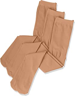 (厚木) ATSUGI 儿童连裤袜 【日本制】 KID'S TIGHTS(儿童连裤袜) 80D 连裤袜〈3双装〉 米色 日本 125~145cm-(日本サイズ140 相当)