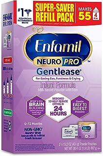 Enfamil 美赞臣铂睿 NeuroPro Gentlease 婴儿配方奶粉,30.4 盎司/862克