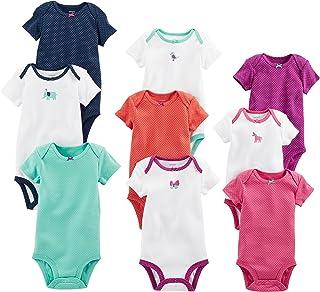 Carter's 卡特女婴 9 件装成长连体衣套装