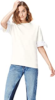 Find 女式短袖运动衫带蝴蝶结 trims