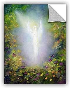 """ArtWall 0pet021a2432p """"Marina Petro's Healing Angel I"""" Removable Wall Art, 24"""" x 32"""""""