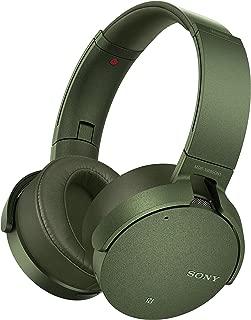 SONY索尼MDR-XB950N1头戴式重低音无线蓝牙降噪耳机 军绿色