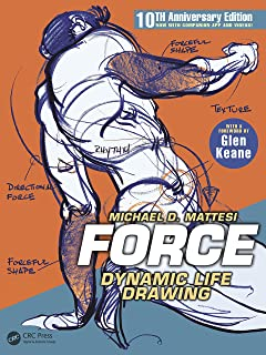 FORCE: Dynamic Life Drawing: 10th Anniversary Edition (Force Drawing Series) (English Edition)