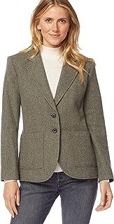 Pendleton 女式 Brynn 贴袋羊毛外套
