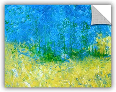 """ArtWall Herb Dickinson's Tropical Waters Art Appeelz Removable Graphic Wall Art, 14 x 18"""""""