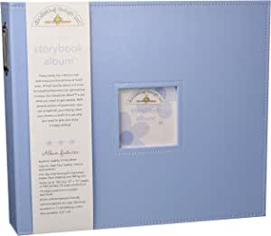 Doodlebug Design Bubble Blue Storybook for Scrapbooking Album, 12 by 12-Inch