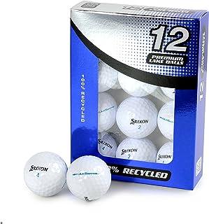Second Chance 中性 Srixon Ultisoft Pack 高级湖面高尔夫球 A 级,白色,12