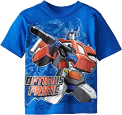 Transformers 变形金刚 男孩擎天柱 T 恤