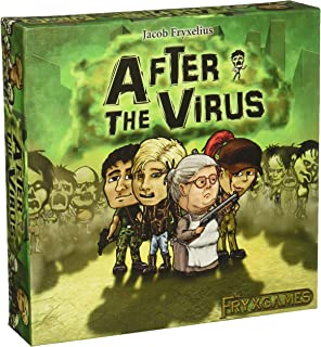Fryx Games After The Virus Strategy 棋盘游戏