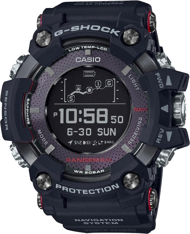 卡西欧Rangeman多功能太阳能智能GPS手表