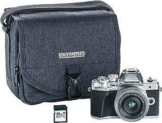 Olympus OM-D E-M10 Mark III Camera Body (Black), Wi-Fi Mappd, 4K VideoV207072SU010 w/ 14-42mm EZ 银色