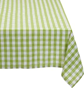 Cassa Luyton Cuba 桌布 – 140 x 350 厘米,颜色 Kiwi