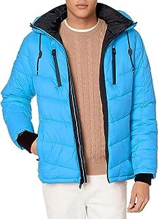 Calvin Klein 男式霓虹棉夹克