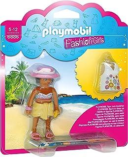 6886 Playmobil 时尚女孩 - Tenue de plage