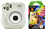 Fujifilm 拍立得 Mini 26+彩虹相纸套装-白色