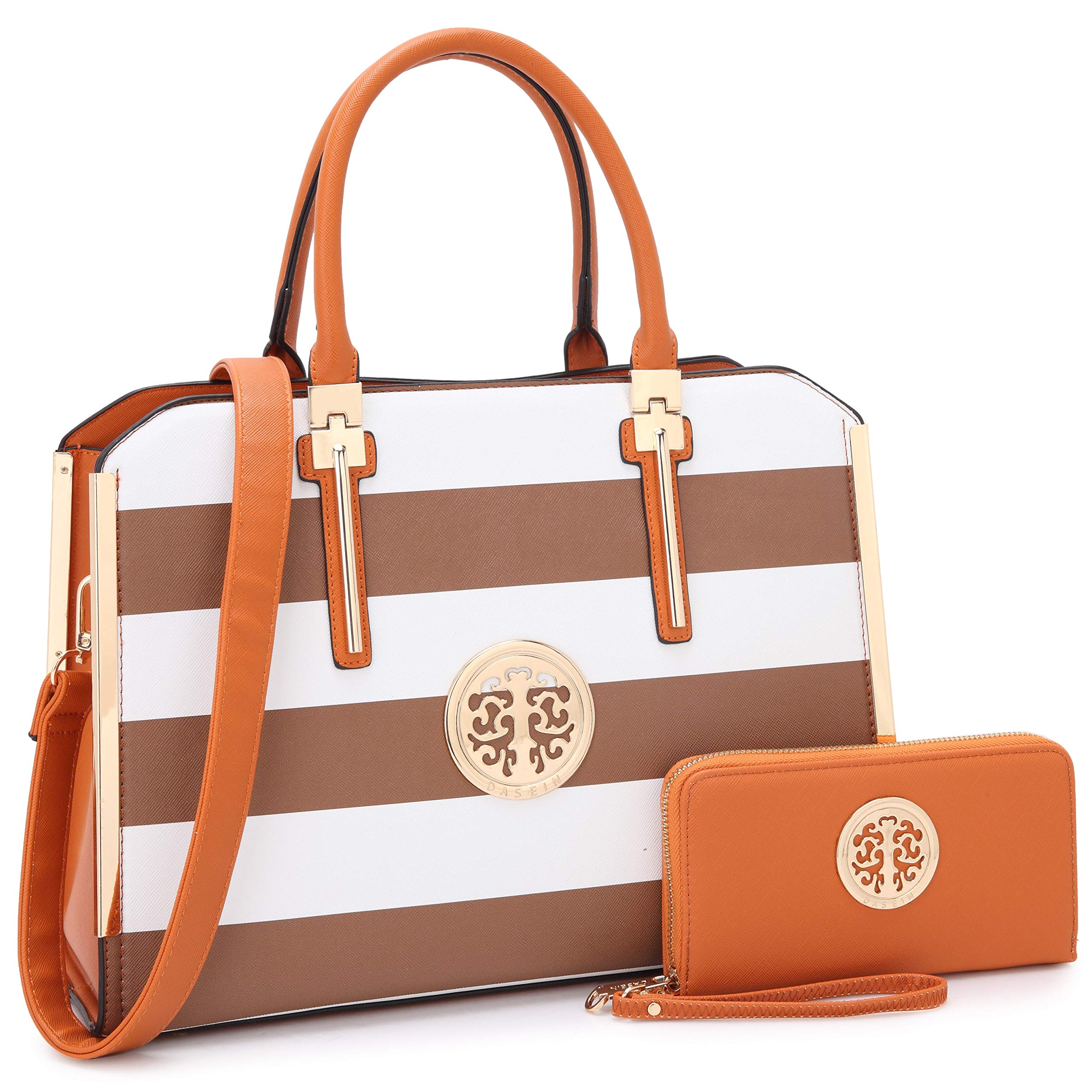 MMK 女士手提包手提包女士套装人造皮革钱包/钱包(2 件套)