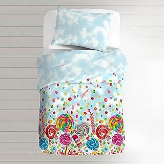 Dream FACTORY 甜糖棉被套装,蓝色 蓝色 幼儿 unknown