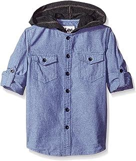 Lee Boys' Little Boys' Hooded Chambray Shirt