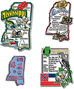 State 磁铁套装 Mississippi