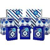 Hallmark 节日礼品袋什锦 - 蓝色、红色、树木、雪花、格纹(8 件装:4 中号,4 大号) Holiday Gift Bags, 6 Pack 每包6条 5XGB4895