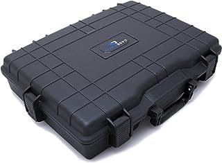 CASEMATIX USB 便携式显示器外壳适合 15.6 英寸、16 英寸和 17 英寸 LED 笔记本电脑显示器和配件 - 适合阿斯、AOC、惠普、GeChic 显示器屏幕、键盘、HDMI 电缆、键盘、键盘、鼠标等