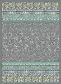 Bassetti Monte 粉色格子棉,灰色,180x250