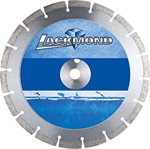 Lackmond Standard CW10 Series Wet Cut Diamond Blade for Cured Concrete 12-Inch by 0.250 by 1-Inch