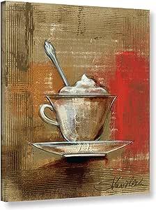 "Tremont Hill Silvia Vassileva""咖啡经典 III""画廊包边帆布,18X24"