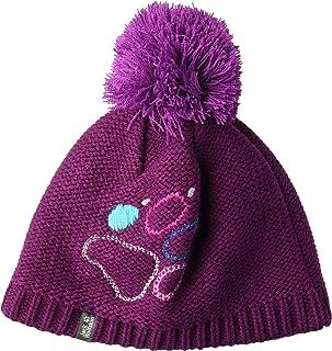 Jack Wolfskin 爪子针织儿童针织毛球帽