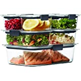 Rubbermaid 14 Piece Brilliance Food Storage Container, Clear