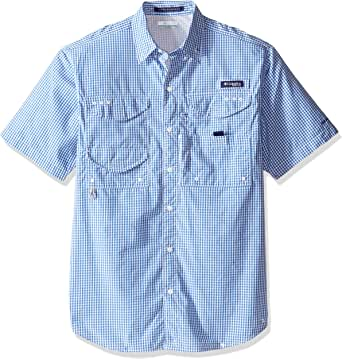 Columbia Men's Super Bonehead Classic Short Sleeve Fishing Shirt